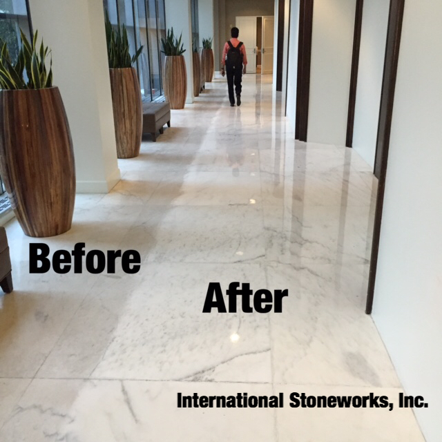 Before And After Stone Restoration
